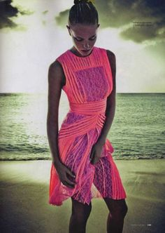 the color! perfect beach wear