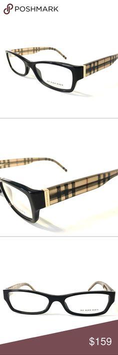 636775b6c05e Burberry Eyeglasses Black Beige New Burberry Eyeglasses Black Beige Plaid  NEW Burberry Eyeglasses for Prescription lenses