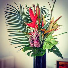 #bouquet exotique #composition