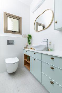 ארון אמבטינ כפרי בירוק מנטה Mint green bathroom cabinet Double Vanity, Bathroom, Decor, Washroom, Decoration, Full Bath, Bath, Decorating, Bathrooms