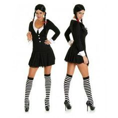 Fancy Dress Wednesday Addams Costume Halloween Costume Ideas  sc 1 st  TOOkie.us & Wednesday Addams Halloween Costume Photo Album - Best Fashion Trends ...