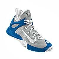 I designed the silver, blue and white Memphis Tigers Nike men's basketball  shoe.