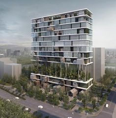 Estante hotel por 3Gatti Estudio de Arquitectura.
