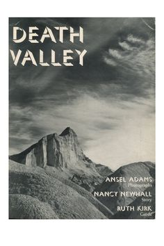Death Valley photo book Color plates by Ansel Adams Death Valley, Ansel Adams Photography, Book Names, Classic Books, Magazine Design, Photo Book, Good Books, Nyc, World