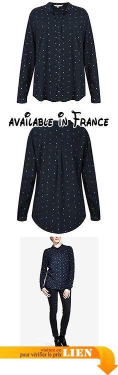B074N6HDB1 : SANDWICH Clothing - Impriméà pois Dobby chemise Foncé saphir - Foncé saphir 10 (36). #Apparel #SHIRT