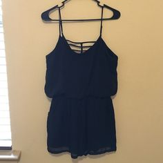 Liberty Love Romper Super cute black romper. Perf condition! Liberty Love Other