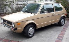 1979 Volkswagen Rabbit diesel... basic, reliable transportation that wouldn't give up.