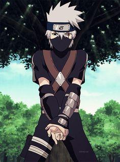 My little baby Kakashi :3 so cute... Naruto