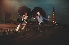 Catamini niños de moda otoño 2013, lo que un disparo increíblemente fresco, medio cantando bajo la lluvia, el medio Harry Potter!