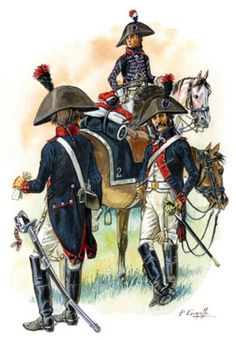 French; Line Cavalry, Marengo, 1800.by P.Courcelle