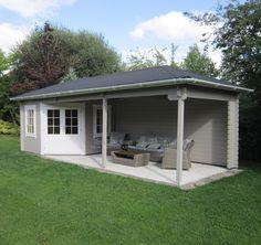 Image result for blokhut met veranda