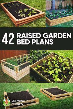 42 DIY Raised Garden