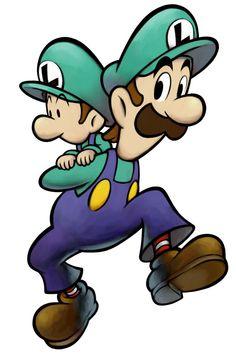 Luigi & Baby Luigi | Mario & Luigi: Partners in Time
