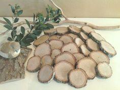 TREASURY ITEM  25 Assorted Rustic tree slices by ArtisticByNature1