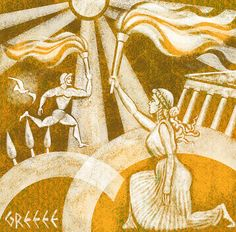 ancient olympic torch - Google Search