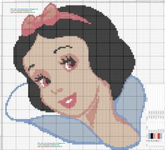Blancanieves+-+patron+punto+de+cruz.jpg (1600×1457)