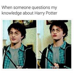 My brother was like this, but he failed to even remember Remus' son's name