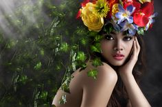 """Colors of Summer by Joe Malicdem Limited Edition Metallic C-Print, Signed and Numbered Photograph. Editions of 25 Per Size 20"""" x 30"""" / 30"""" x 40"""" 40"""" x 60"""" / 48"""" x 72"""" Joe gives a fresh and unique interpretation to avant garde, vogue high fashion photography with an imagination and talent that know NO limit."""