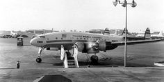 Chicago Midway Airport - TWA - Constellation (049) (1955) Getting ready to go.
