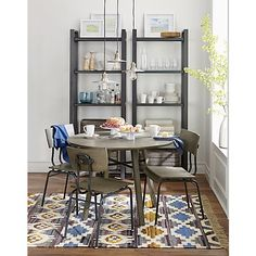 Scholar Dining Set Crate And Barrel