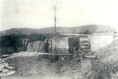 Canal locks south of Pee Pee creek