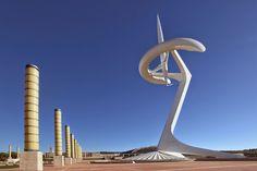 #barcelone #barcelona #барселона #чемзаняться #кудапойти #чтопосмотреть #развлечения #отдых #парки #олимпийскийпарк #монжуик #башнямонжуик Телекоммуникационная башня Монжуик. Олимпийский парк в Барселоне: как добраться и что посмотреть   Барселона10 - путеводитель по Барселоне