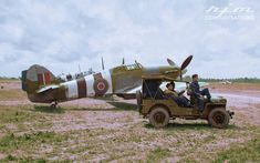 Ww2 Aircraft, Military Aircraft, Hawker Hurricane, The Spitfires, Desert Camo, Battle Of Britain, Royal Air Force, D Day, Drawing For Kids