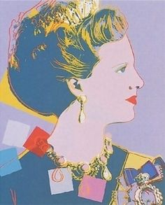 Andy Warhol | Queen Margrethe II of Denmark 1985