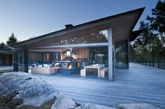 JOARC I ARCHITECTS • Holiday Villas • Villa Korsholmen
