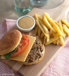 Food Lover Friday: My Favorite Homemade Veggie Burger (gluten-free)