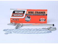 Wizard wire strainer