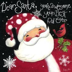Dear Santa...best pal.... by Geoff Allen