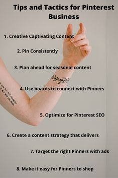 Marketing strategy for Pinterest