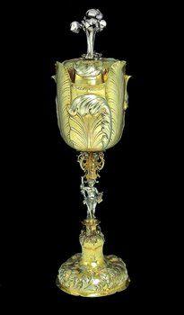 An important goblet with cover, Hermannstadt, Sebastian Hann, circa 1690 .