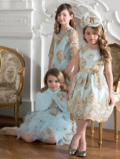 ALALOSHA: VOGUE ENFANTS: Special Ocassion Dresses