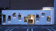japanese hair salon ceiling