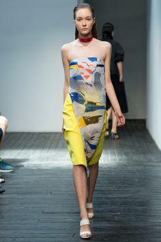 Look 17 of 33 Spring 2015 Ready-to-Wear Dion Lee Model Nicole Keimig (The Society)