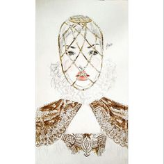 A for Alexander Mcqueen for my alphabetical fashion designers collection.