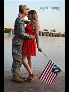 Military couple  Fulgencio photography