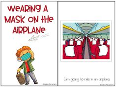 I had a request for a story about wearing a mask on an airplane.  We are all still getting used to masks and wearing one on an airplane is new for many.  This story can help support children by proactively talking about what is going to happen on the plane.  #children #kidlit #covid #masks #kidhealth Kids Health, Airplane, Masks, Shit Happens, How To Plan, Education, Children, Children Health, Plane