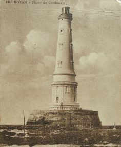 French Vintage Postcard - Cordouan Lighthouse, Royan, France by ChicEtChoc on Etsy