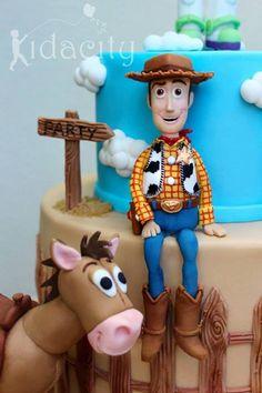 topper de Buddy Toy Story en fondant - Buscar con Google