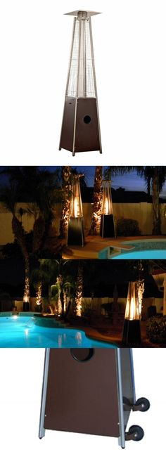 Patio Heaters 106402: Az Patio Heaters Patio Heater, Quartz Glass Tube In Hammered Bronze -> BUY IT NOW ONLY: $249.32 on eBay!