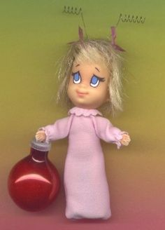 Liddle Kiddle Cindy Lou Who ....I seriously must find this.....
