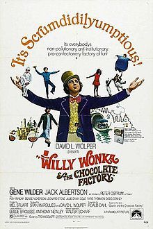 2. As Alex gets a little older he is introduced to the iconic movie Willy Wonka and the Chocolate factory. Upon learning that this is the adaptation of another Roald Dahl book, he wants to read the novel as well furthering his relationship with Penguin texts.