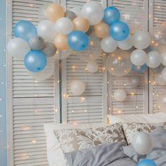#CosalindoSırları:  Balonlar renklerine ve formlarına uygun şekilde bir araya getirilerek yatak odası, çalışma odası, çocuk odası gibi alanlarda dekoratif obje olarak değer kazanabilir.  #balonlar #balon #yatakodası #dekorasyon #cosalindo