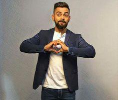 Lots os heart for u💕💕💕💕💕 Love You Baby, My Love, Virat Kohli Quotes, Virat Kohli And Anushka, Virat Kohli Wallpapers, India Cricket Team, Indian Star, Best Couple, Beard Styles