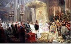 San Jerónimo el Real   se celebraron varias cortes del reino, juraron los príncipes de Asturias desde Felipe II hasta Isabel II, casó don Alfonso XIII con la reina Victoria Eugenia