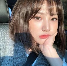 asian, korean, and ulzzang �미지 Ulzzang Short Hair, Korean Short Hair, Ulzzang Korean Girl, Cute Korean Girl, Korean Beauty, Asian Beauty, Aesthetic Hair, Girl Short Hair, Grunge Hair