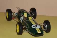 Tamiya 1/20  plastic model Lotus 25